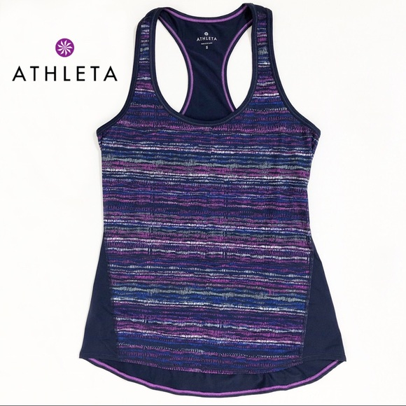 e6a19a7a1271f Athleta Tops | Space Dyed Racerback Athletic Tank Top S | Poshmark